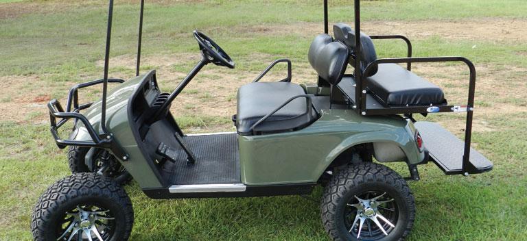 Golf Cart Rentals Eagle Nest Hidden Lake Resort